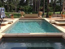 barcelona rectangular inground fiberglass pool with unique inground fiberglass pool