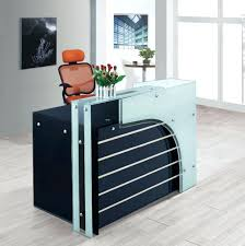 office counter designs. Marvelous Office Furniture Counter Design Glass Top Reception Desk Intended For Designs R