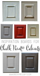 to show you some ways to go beyond basic white and add high end style to your home take a look at our six inspiration boards for chalk paint kitchens