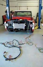 painless performance products a taste of today s technology part 2 1968 chevrolet c10 lain out external wire harness holley main engine harness 10 33