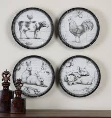 uttermost decor uttermost farmers choice this collection of farm animals is oil reprod