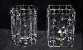 picture of candle holder round 6 5 bling