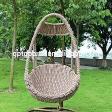 outdoor furniture swing chair. Outdoor Furniture Freestanding Chair Garden Swing Egg Wicker