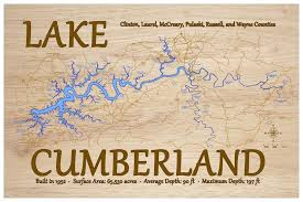 Lake Cumberland Kentucky Map Final Looks In 2019 Lake