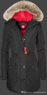 women down jackets with fur hood wellensteyn damen queens tisaairtec schwarz polyester jacken lady s down parkas coat jacket with 302 09 piece on