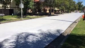 los angeles is painting some streets white to counter urban heat island effect the weather channel