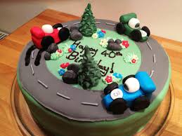 40th birthday cake ideas for him
