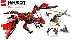 Đồ Chơi Xếp Hình LEGO Ninjago 70653 Lắp Ráp Rồng Lửa Đỏ Của Kai | Lego  Speed Build Review - YouTube