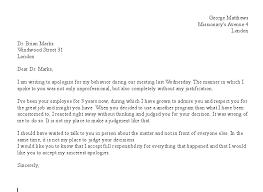 xformal apology letter sample gespeed ic yaZu6 3NJn