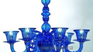blue glass chandelier awesome blue glass chandeliers in chandelier blue sea glass chandelier