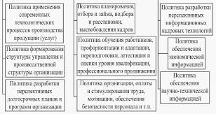Менеджмент Основные подходы к определению и этапы построения  Менеджмент Основные подходы к определению и этапы построения кадровой политики организации Курсовая работа