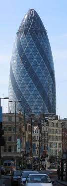 30 St Mary Axe is listed (or ranked) 2 on the list List of