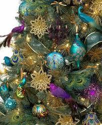 Holiday Lane Christmas Ornaments Regal Peacock Tree Theme Holiday Lane Christmas Tree