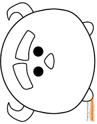 Disney Tsum Tsum Coloring Pages 2 Disneyclipscom
