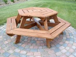round wooden picnic table round wood picnic table plans designs wooden picnic tables for