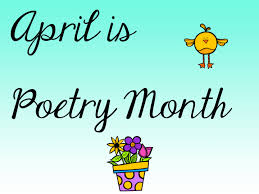 Image result for national poetry month 2015