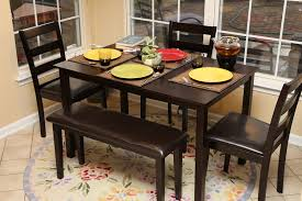 small black dining table and chairs black and white dining room furniture dining room table sets with a bench