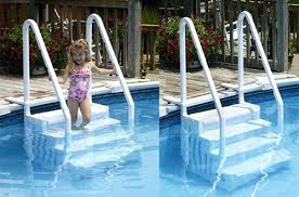 Blue Wave Pool Steps Blue Wave Easy Pool Steps For Above Ground Pool