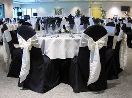 wedding chair covers and table decorations best 25 black chair covers ideas on gold chair