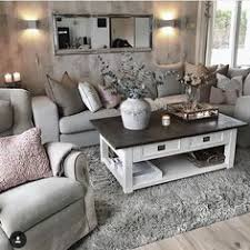 decorating with grey furniture. Couch/chairs, Coffee Table, Rug But Fluffier Decorating With Grey Furniture