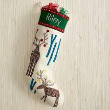 Holiday Stocking - Deer