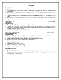 Resume For Team Leader In Bpo Sample Resume For Team Manager In Bpo Sample Customer