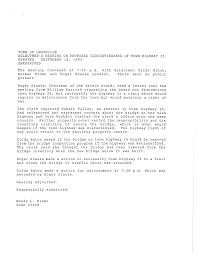 Certificate of Highway Mileage