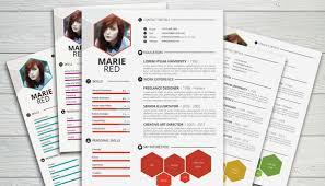 Resume Design Templates Free Interesting Creative Resume Template Resume Badak