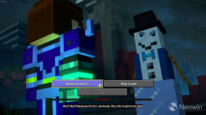 Image result for minecraft story mode season 2 admin snowman