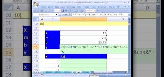 how to create a chart for a linear function of x in ms excel microsoft office wonderhowto