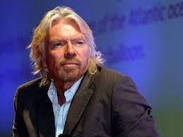 glamourondernemer Richard Branson ...