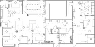office space layout commercial space design