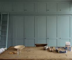 a wall of shaker style cabinets in a strawberry hill kitchen in southwest london