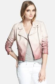 circus by sam edelman dip dyed faux leather moto jacket circus by sam edelman dip dyed