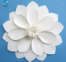 How To Make Big Lotus Flower From Paper Gorgeous Giant Pure White Paper Making Lotus Flower For Wedding