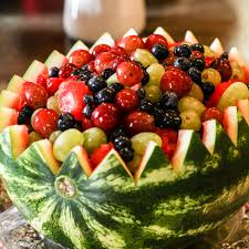 watermelon fruit salad bowl. Perfect Watermelon Watermelon Bowl Fruit Salad This Past Weekend I Had My Wine U0026 Cheese  Themed Bridal Shower At A Winery Near Seattle Pictures Below It Was AWESOME Intended Salad E