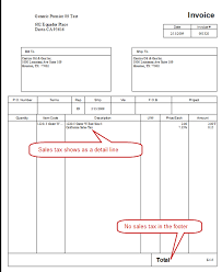 Examples Of Tax Invoices Magnificent How QuickBooks Shows Sales Tax On Invoices Practical QuickBooks