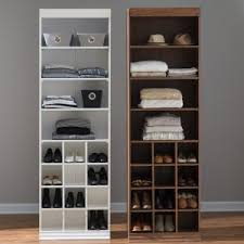 closet shelving. Belham Living Sloan Closet Unit With Shoe Storage Shelving V