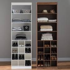 Wood Closet Organizers on Hayneedle Wood Closet Systems Wood