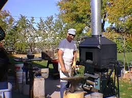 blacksmith coal forge for sale. tuyere coal forge blacksmith for sale