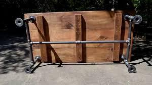 iron pipe furniture. Black Pipe Coffee Table Using 1in Iron Furniture E