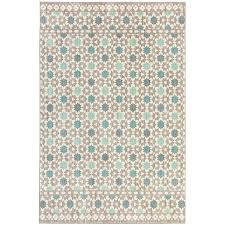 mohawk home cascade heights lattice tiles grey rectangular indoor machine made area rug common 8 x 10 actual 8 ft w x 10 ft l x 0 5 ft dia