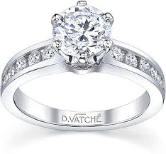 vatche channel set six prong diamond engagement ring 1020