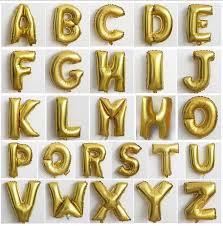 16 039 letter balloons wedding mylar balloons