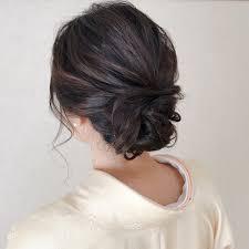 美しさを引き立てる着物に似合う髪型で華やかに清楚にhair