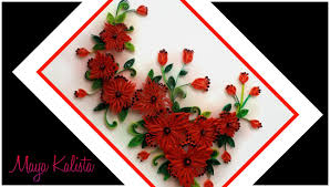 Small Picture Paper Quilling flowers designs quilling wall frame designs DIY