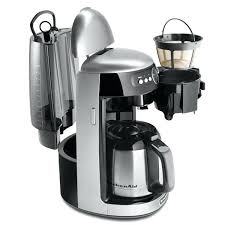 kitchenaid 12 cup coffee maker cup thermal carafe coffee maker with digital display kcm03cu contour silver