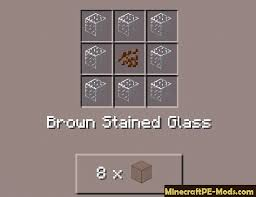 stained glass mod for minecraft pe 0 15