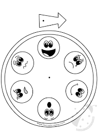Orologio Delle Emozioni Per Bambini Schede Didattiche Bambini