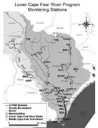 The Cape Fear River Basin North Carolina Showing Lower